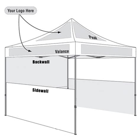 Custom Pop Up Tents Event Canopies 10x10 Tent Starting At 649 Tent Layout Template