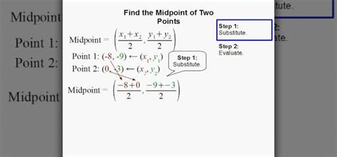 How To Find Using How To Find The Midpoint Of Two Points Using Formula 171 Math Wonderhowto