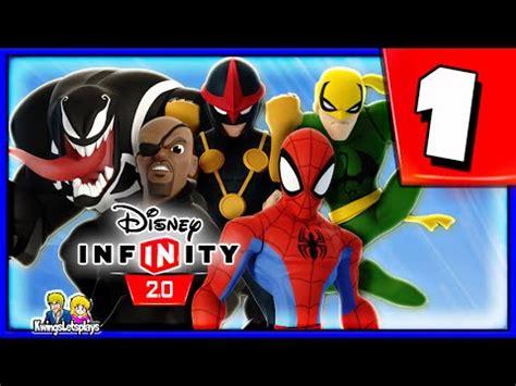 disney infinity friends disney infinity 2 0 spider walkthrough part 1