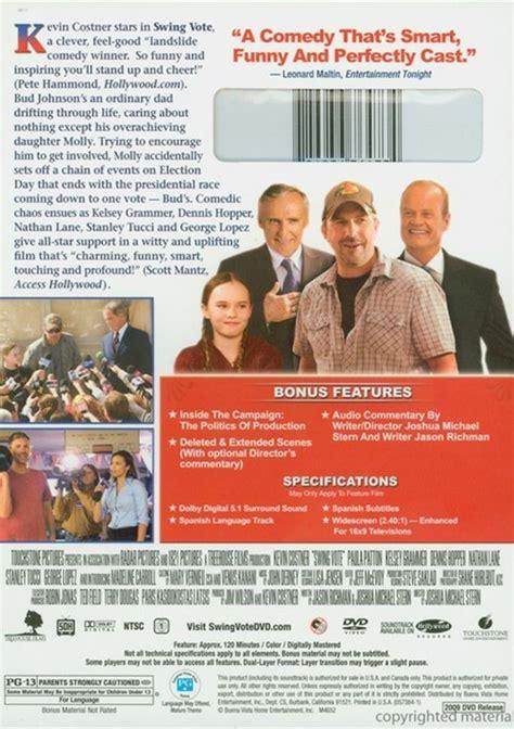 swing vote movie summary swing vote dvd 2008 dvd empire