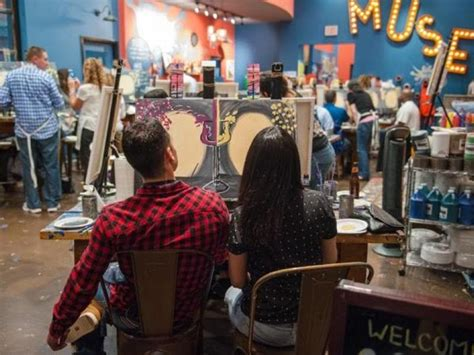 muse paintbar in gaithersburg muse paintbar opens location in gaithersburg