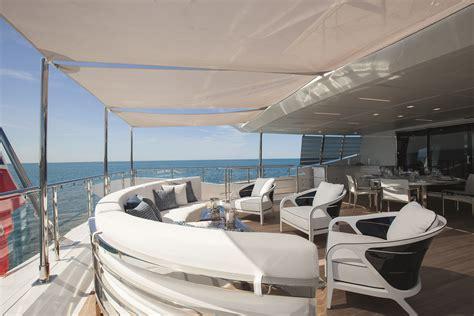 yacht upper deck luxury yacht h upper deck yacht charter superyacht news