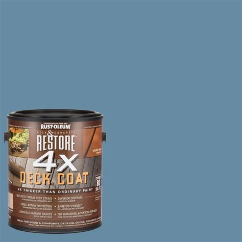 rust oleum restore  gal  porch deck coat