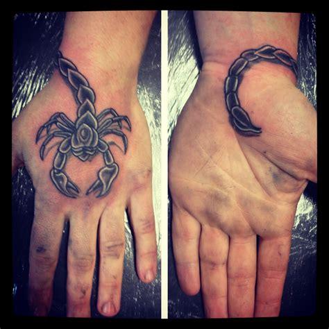 scorpion hand tattoo scorpion tattoos i done