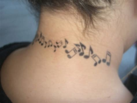 neck tattoo song 64 fantastic music neck tattoos