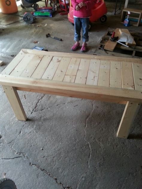 2x4 bench 2x4 bench booth pinterest benches and tables