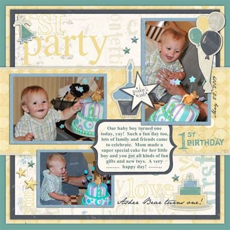 multiple photo layout ideas like the multiple page border layers and journal box from
