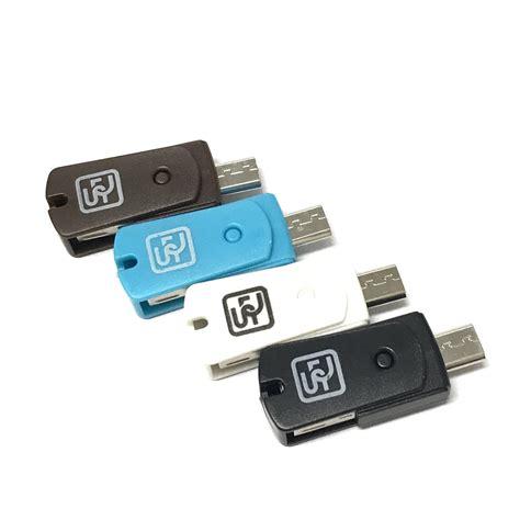 Micro Sd Di Lazada digistore 2 in 1 otg micro sd card reader for android devices brown lazada ph