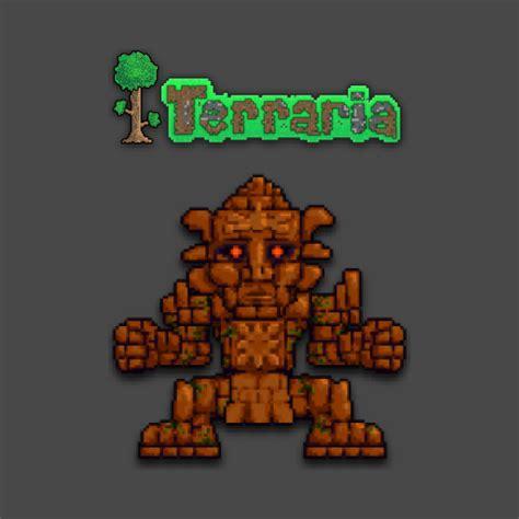 Golem On T Shirt terraria golem gamer t shirt teepublic