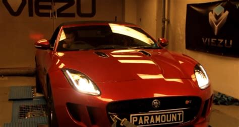 Car Dyno Types by A Jaguar F Type On The Dyno Viezu Supercharger