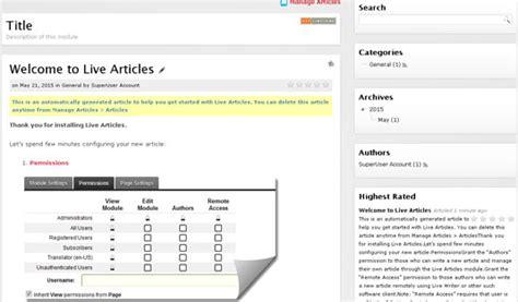 dnn workflow live articles dnn articles news events module