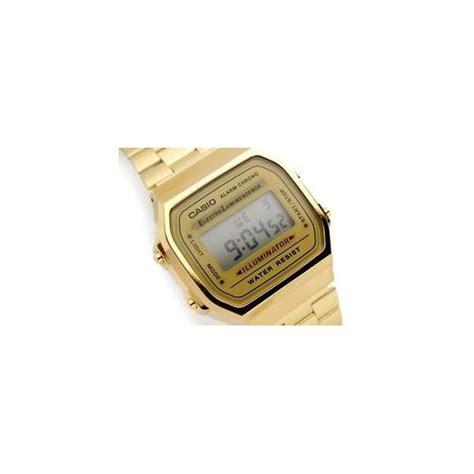 casio dorato orologio uomo casio vintage digitale dorato a168wg 9bwef