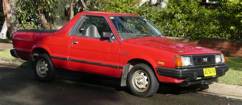 brat car 1987 subaru brat information and photos momentcar