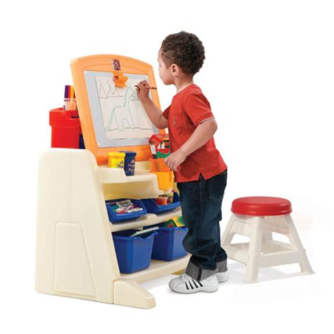 Step2 Flip And Doodle Easel Desk With Stool Uk by Step2 Flip And Doodle Easel Desk With Stool For Any