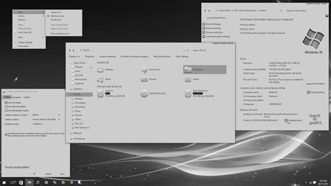 gray10 v1 by gsw953onda on deviantart gray10 light for windows 10 fall update by gsw953onda on
