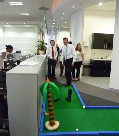 Office Golf by Indoor Mini Golf Banish The Office Boredom Golf