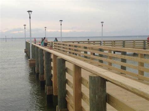 pier picture of destin army recreation area rv park - Military Boat Rentals In Destin Fl