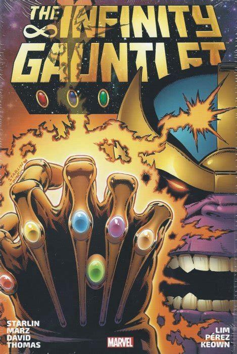 infinity gauntletic value infinity gauntlet omnibus cover 1b marvel