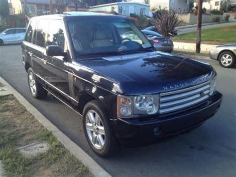 2003 range rover sport for sale buy used 2003 land rover range rover hse sport utility 4
