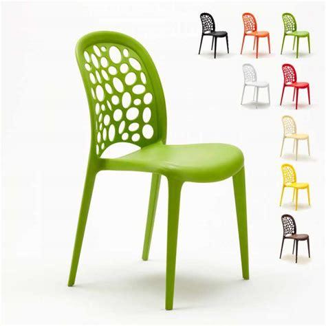 sedia cucina sedia da cucina e giardino per casa e bar impilabile di