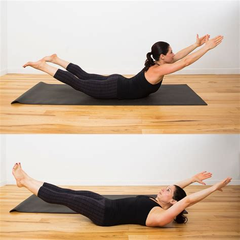 superman to hollow hold bodyweight ab workout popsugar fitness uk photo 3