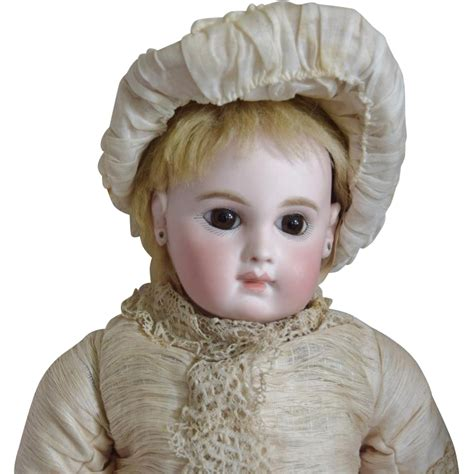 early bisque doll stunning early jumeau ej bisque doll in