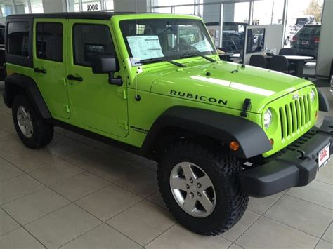 Jeep Rubicon Lime Green Lime Green Jeep Rubicon For Sale Html Autos Post