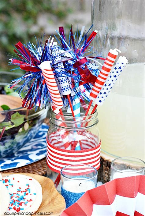 4th of july table centerpieces fourth of july decorating ideas a pumpkin and a