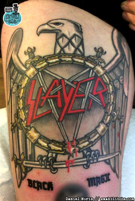 fuckin slayer tattoo by daniel norin swahili bob s