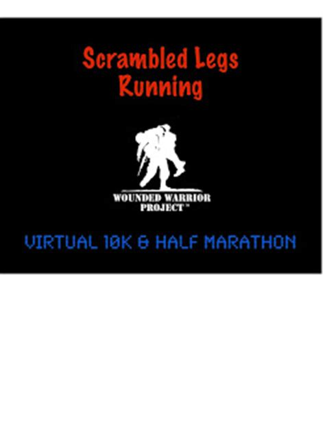 scrabble legs scrambled legs running wwp and slr 10k and 1 2