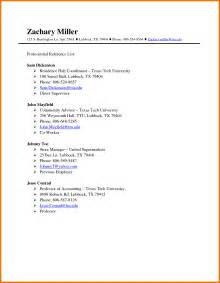how write a reference list for resume sample examples - How To Write A Reference List For Resume