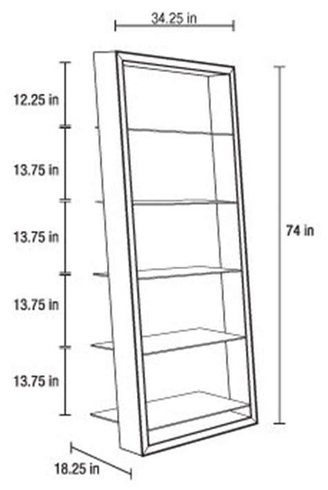 Shelf Measurements by Standard Bookshelf Dimensions
