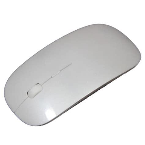 Wireless Ultra Thin Laser Optical Magic Mouse 24ghz Notebook Laptop M wireless ultra thin laser optical magic mouse 2 4ghz white jakartanotebook