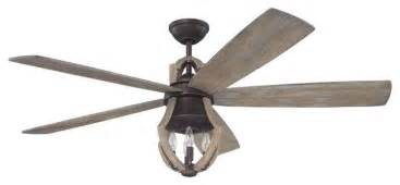 winton ceiling fan aged bronze weathered pine farmhouse