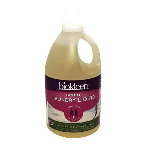 Biokleen Sports Laundry Liquid Detergent 128 Loads From Sports Laundry
