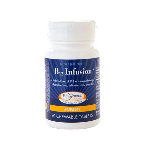 enzymatic therapy b12 infusion chewables walgreens