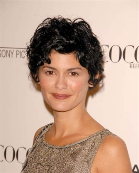how to style your hair like audrey tautou short pixie the best haircuts and styles for naturally curly hair
