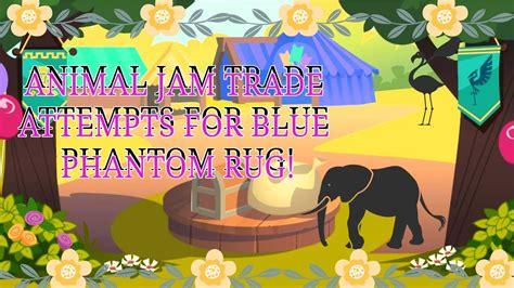 phantom rugs worth aj animal jam trade attempts for blue phantom rug