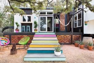 Tiny House 400 Sq Ft 400 Sq Ft Bohemian Style Small House On Wheels