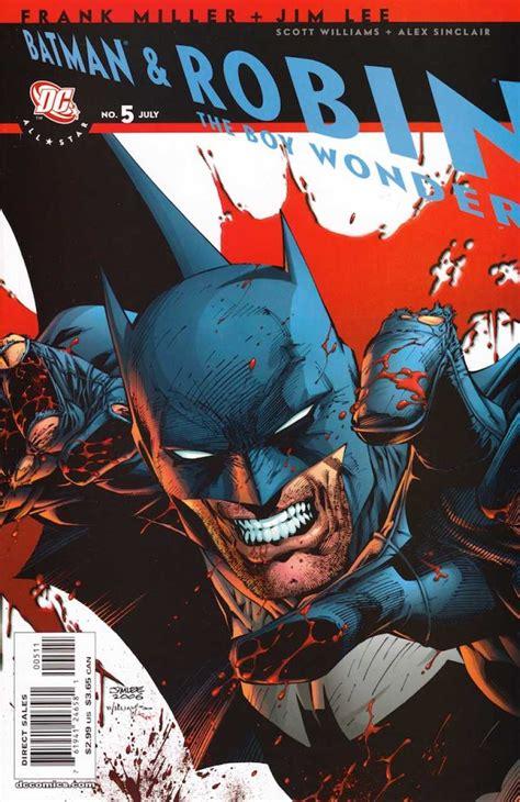 all star batman and robin the boy wonder all star batman robin the boy wonder 5 quot i love being the goddamn batman quot issue