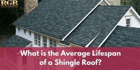 average lifespan   shingle roof rgb