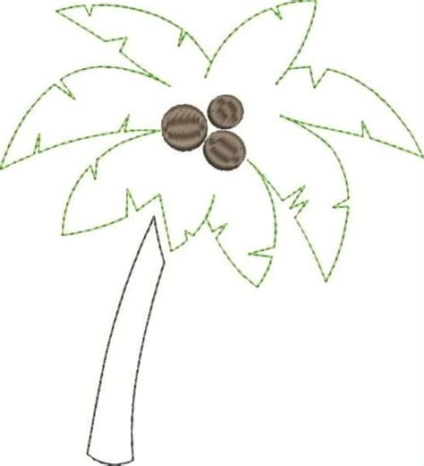 palm tree applique snap shot fabric and fiber crafts