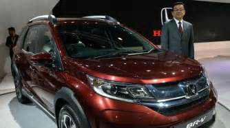 honda new 7 seater car honda cars india unveils 7 seater crossover utility br v