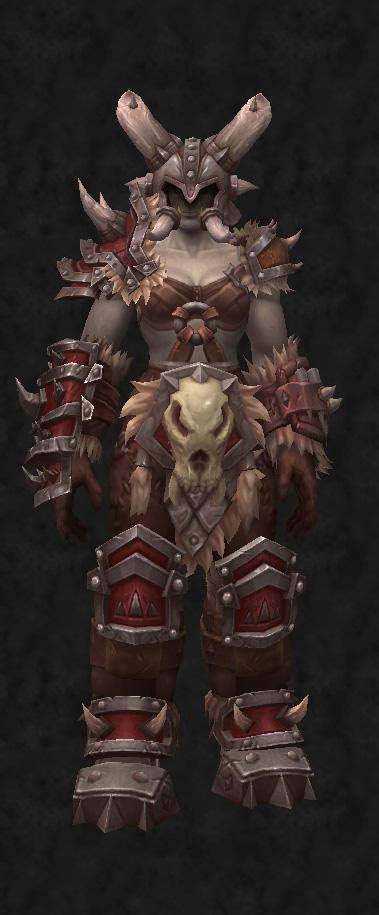 maghar orc heritage armor warsong recolor