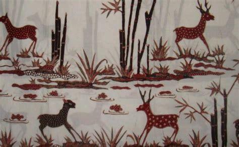 keragaman flora dan fauna jabar tertuang dalam motif batik klasik konfrontasi