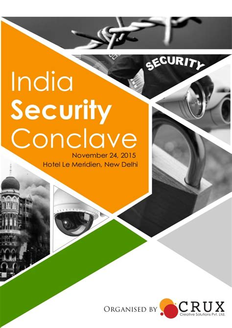 india security conclave 2015 event brochure