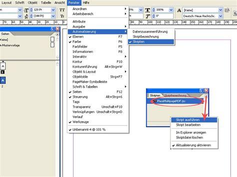 indesign tutorial pdf free download automatisierung viele mehrseitige pdf platzieren durch