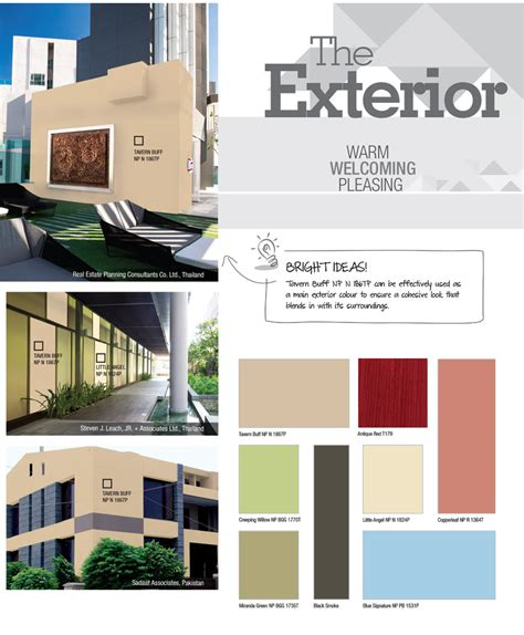 exterior colours the most suitable home design