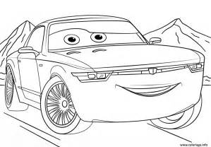 coloriage bob sterling from cars 3 disney jecolorie com