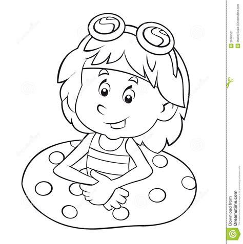 Coloriage Enfant 3 Ansl L